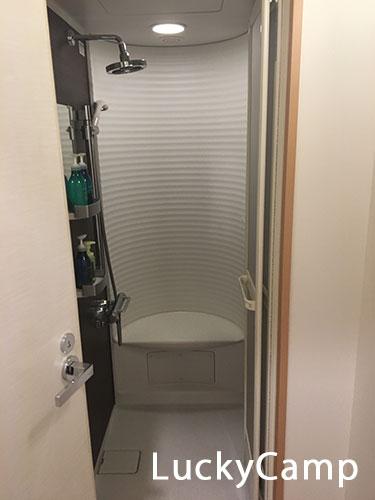 ワイズキャビン シャワールーム 画像