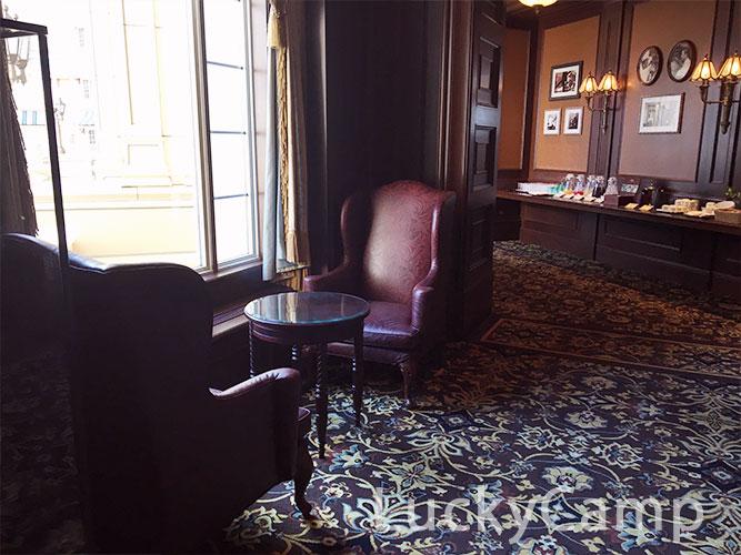 ディズニーランドホテル コンシェルジュ ラウンジ  画像