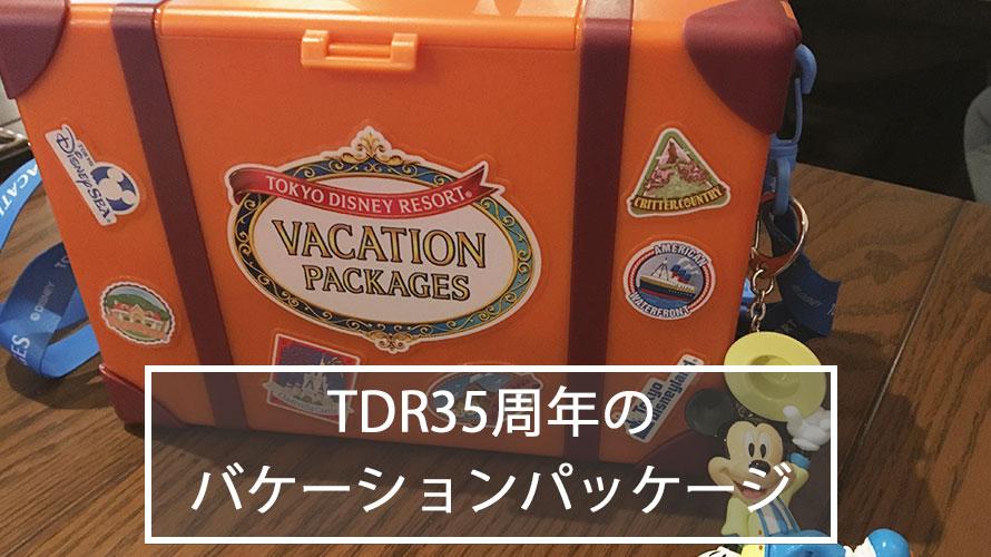 TDR 35周年 バケーションパッケージ 口コミ 感想 ブログ