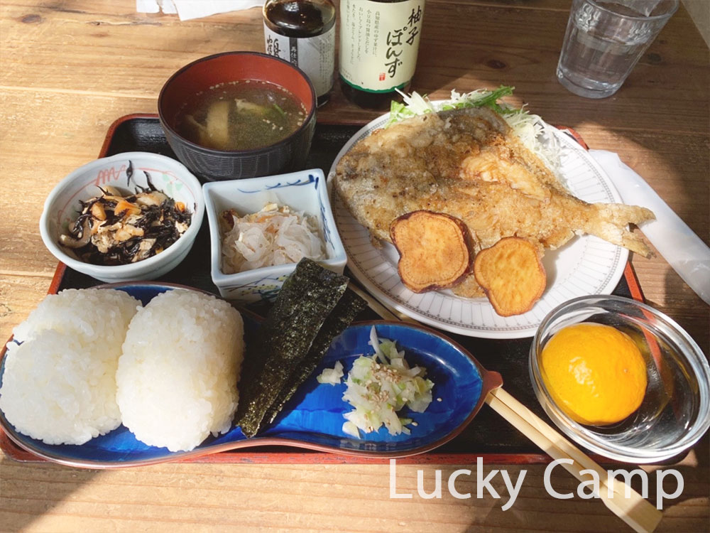 こまめ食堂 棚田のおにぎり定食 画像